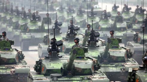 Dưới sự yểm hộ của xe tăng, máy bay, hàng nghìn lính Trung-Ấn bị kẹt trên mặt trận dài 70 km