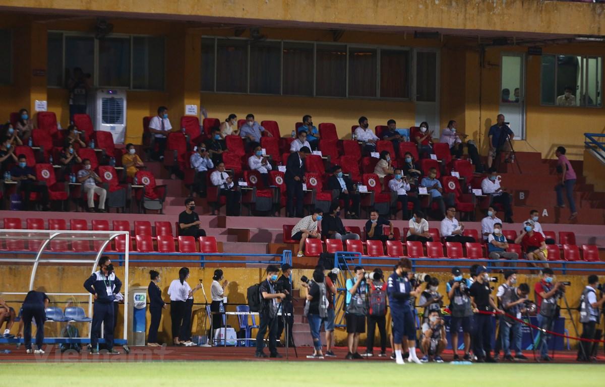 Câu lạc bộ Viettel và Hà Nội FC phải thống nhất với nhau về phương án chia số lượng vé ở trận chung kết cúp Quốc gia 2020. (Ảnh: Hiển Nguyễn/Vietnam+)