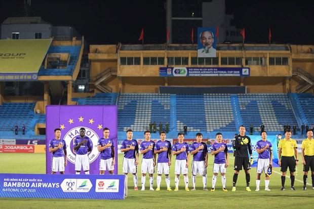Trận chung kết cúp Quốc gia 2020 diễn ra tối 20/9 tới với lượng khán giả khoảng 3.000 người. (Ảnh: VPF)