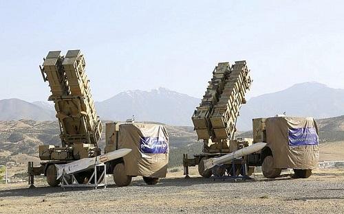 Hệ thống phòng không Khordad 15 của Iran. Ảnh: AP