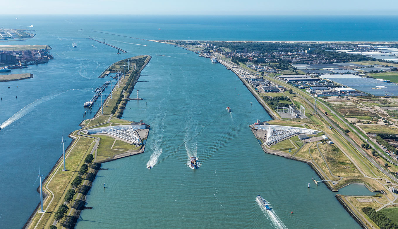 Hàng rào chắn sóng tự động duy nhất trên thế giới - Maeslantkering ở Hà Lan