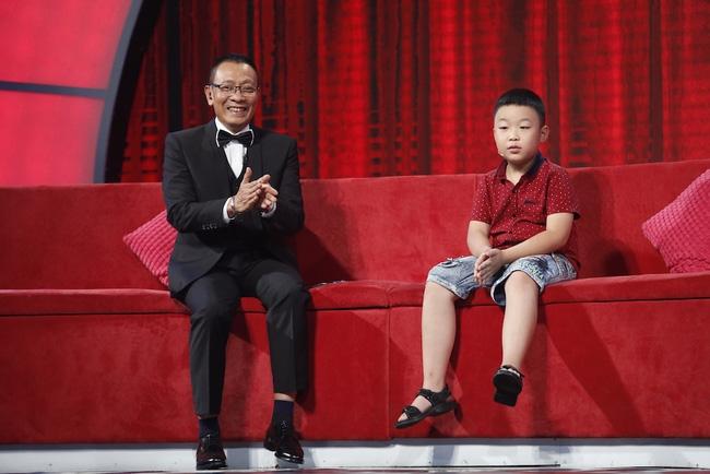 Tuấn Minh từng xuất hiện trong chương trình 'Mặt trời bé con'.