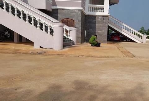 Trụ sở TAND tỉnh Bình Phước - nơi xảy ra vụ việc