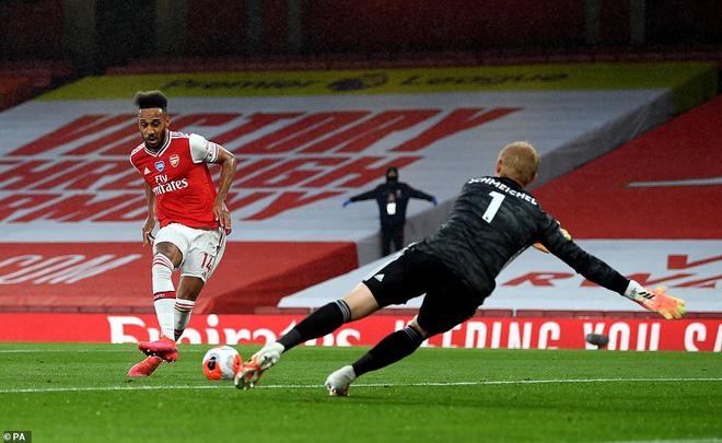 Aubameyang mở tỉ số cho Arsenal