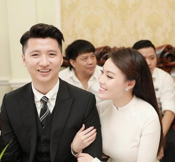 Nguyễn Trọng Hưng và Âu Hà My hồi còn mặn nồng.