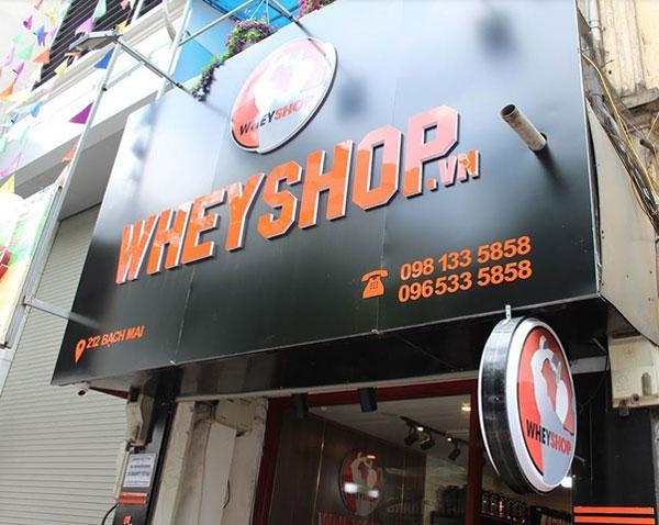 WheyShop nhanh chóng đạt được những bước tiến lớn trong việc tạo dựng lòng tin của khách hàng bằng cái tâm trong nghề của mình