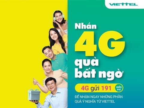 'Nhắn 4G, quà bất ngờ' 0