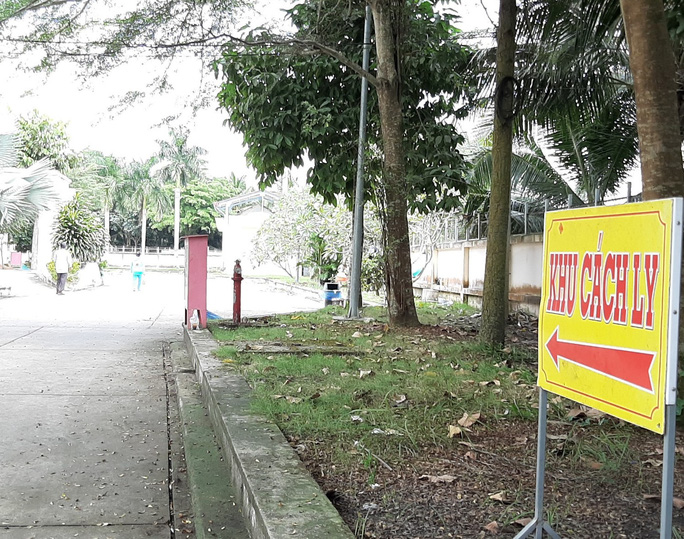 Bệnh nhân 1440 đang được tại Bệnh viện Lao và bệnh Phổi tỉnh Vĩnh Long
