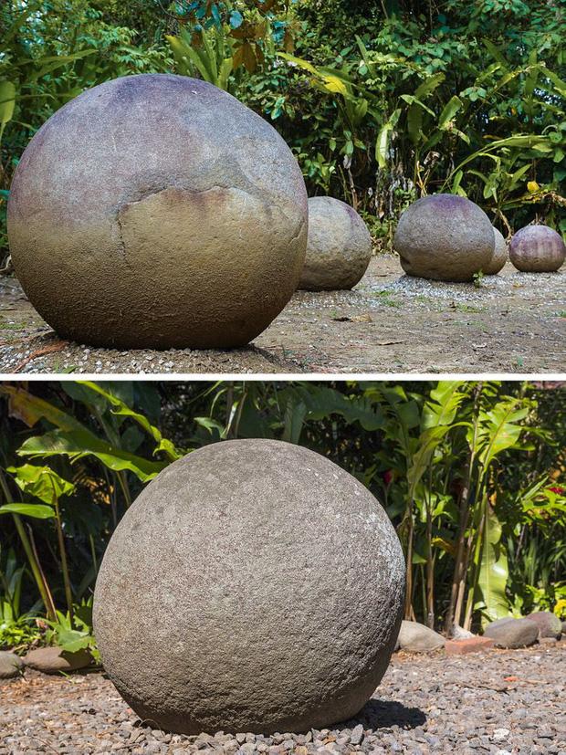 Những quả cầu tròn tại Costa Rica