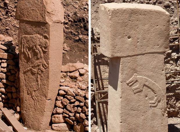 Một tàn tích tại Gobekli Tepe
