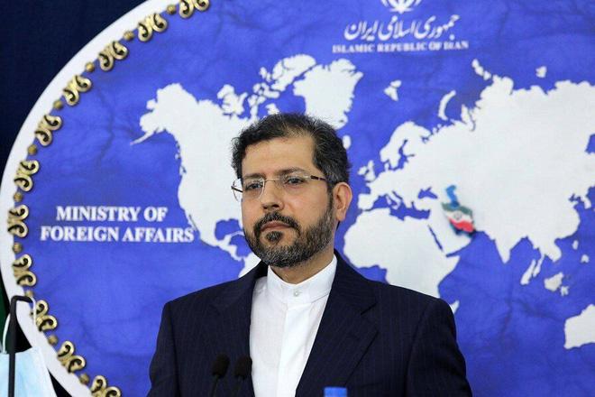 Phát ngôn viên Bộ Ngoại giao Iran Saeed Khatibzadeh.