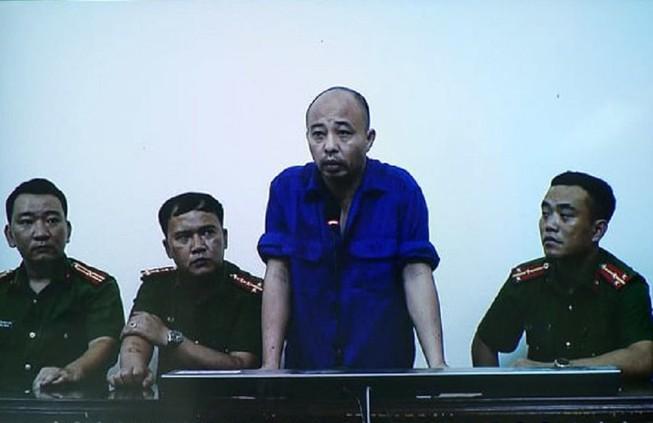 Đường 'Nhuệ' bị tuyên 2 năm 6 tháng tù về hành vi đánh người tại trụ sở công an. Ảnh: Pháp luật TP.HCM