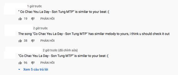 Một số bình luận từ cộng đồng mạng Việt Nam tố giai điệu beat Có Chắc Yêu Là Đây tương đồng với bản beat Lucky