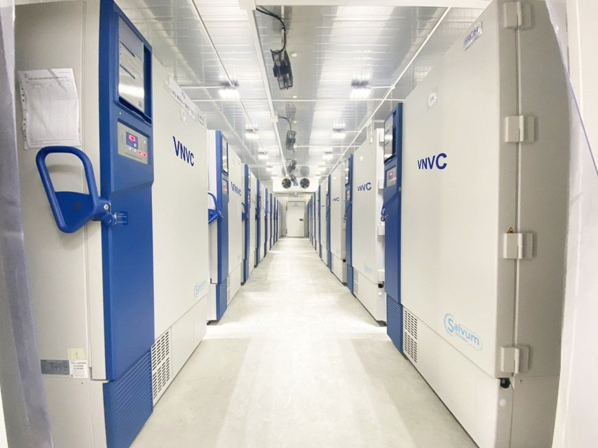 VNVC là đơn vị duy nhất được AstraZenca lựa chọn phân phối vắcxin với số lượng lớn tại Việt Nam. (Ảnh: Thông tin Chính phủ)