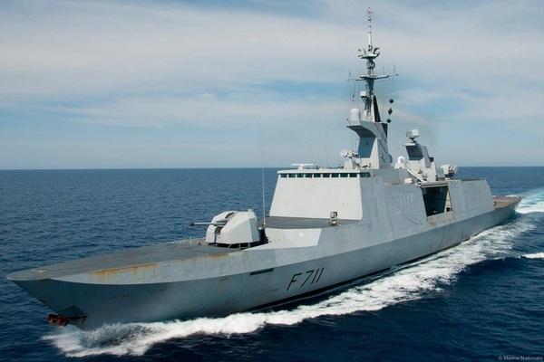 Tàu khu trục Surcouf (F711). Ảnh: Seaforces