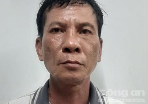 Đối tượng Nguyễn Hòa tại cơ quan điều tra