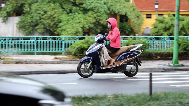 Ảnh hưởng của không khí lạnh, Hà Nội có mưa.