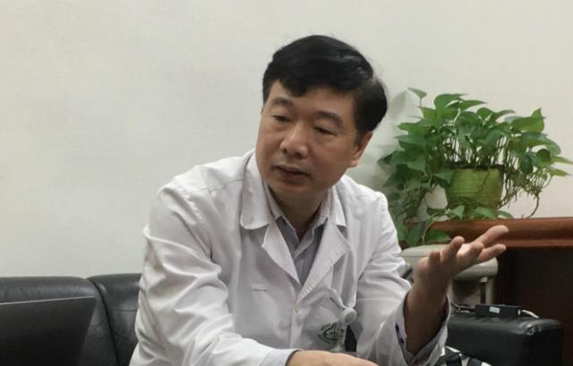 TS Đỗ Văn Thành, Trưởng phòng Tổ chức Cán bộ - Bệnh viện Bạch Mai.