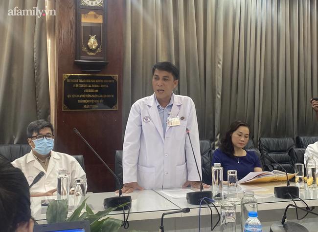 Bác sĩ Phạm Thanh Việt cho biết vấn đề của bệnh nhân sau khi được xuất viện là xử lý dự phòng việc tái phát chảy máu khi chấn thương.