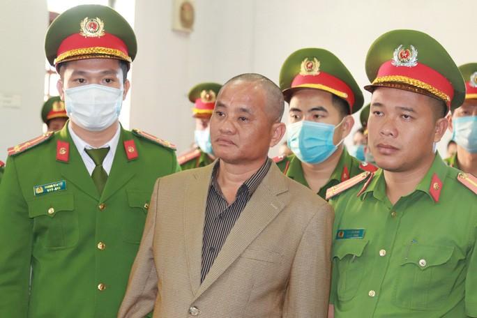 Bị cáo Đỗ Văn Minh tại phiên tòa sơ thẩm