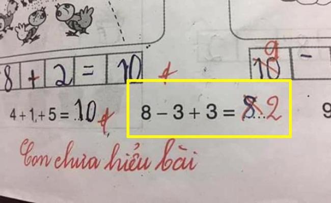 Bài toán gây tranh cãi trên mạng xã hội.
