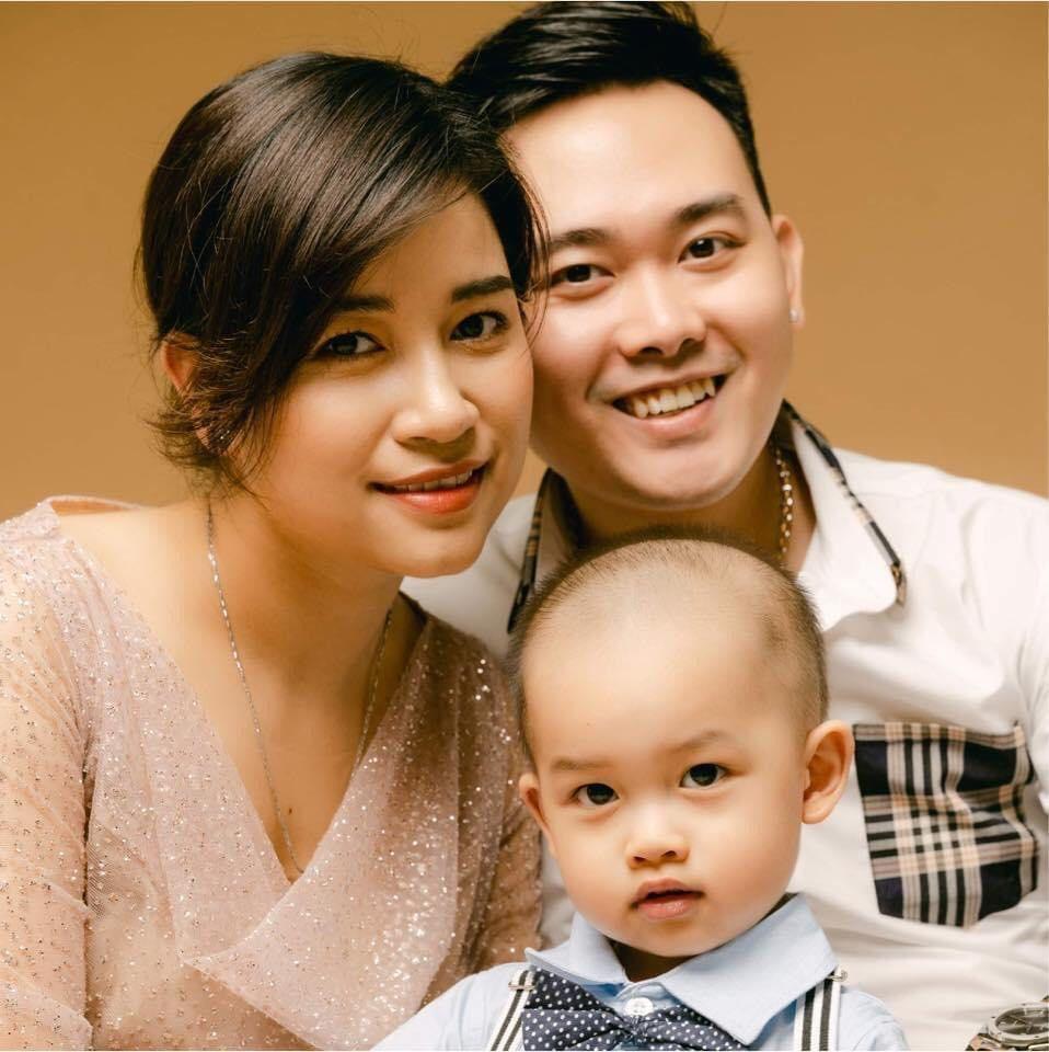 Gia đình hạnh phúc của chị Kiều Trang