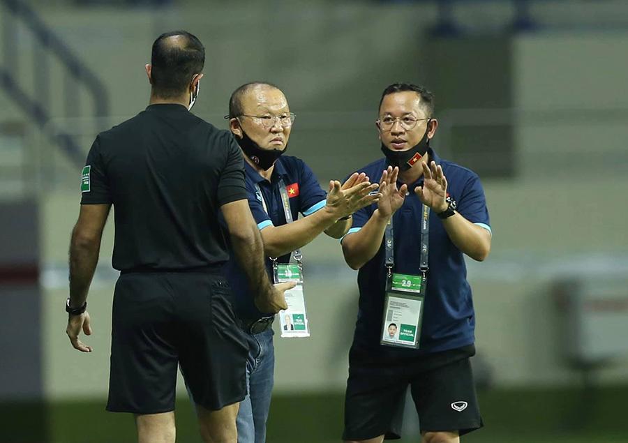 HLV Park Hang-seo không được chỉ đạo tuyển Việt Nam trong trận gặp UAE