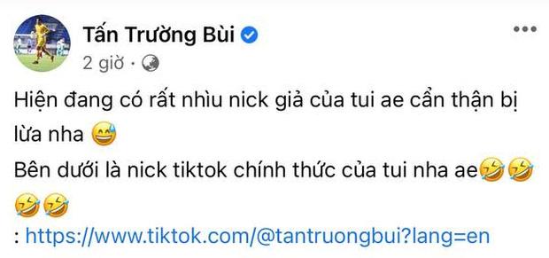 Bị mạo danh hàng loạt, Tấn Trường lên mạng cảnh báo cho netizen khỏi bị lừa