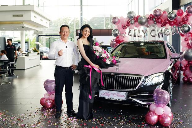 Cận cảnh chiếc Maybach mà Mr. Xuân Hoàn bán cho Lily Chen cách đây không lâu