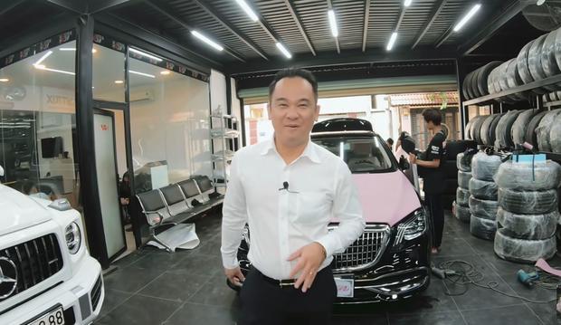 Ý tưởng làm xe hồng đen là của Mr. Xuân Hoàn