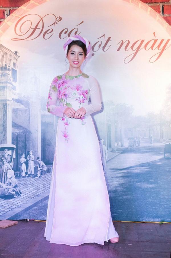Cách đây ít lâu, Á hậu Đỗ Vân Anh xuất hiện trên một sàn diễn hội ngộ các người đẹp trong cuộc thi Hoa hậu Việt Nam.