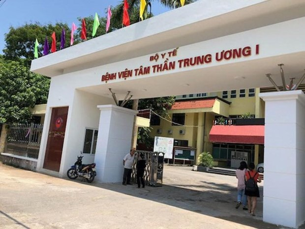 Bệnh viện Tâm thần Trung ương 1.