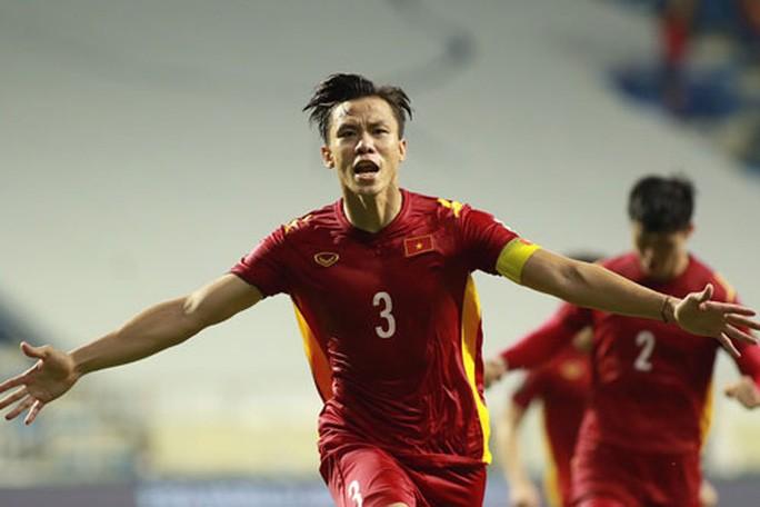 Đội trưởng Quế Ngọc Hải tự tin tuyển Việt Nam sẽ làm nên chuyện khi được đá trên sân Mỹ Đình tại vòng loại thứ 3 World Cup 2022 - khu vực châu Á Ảnh: ANH KHOA