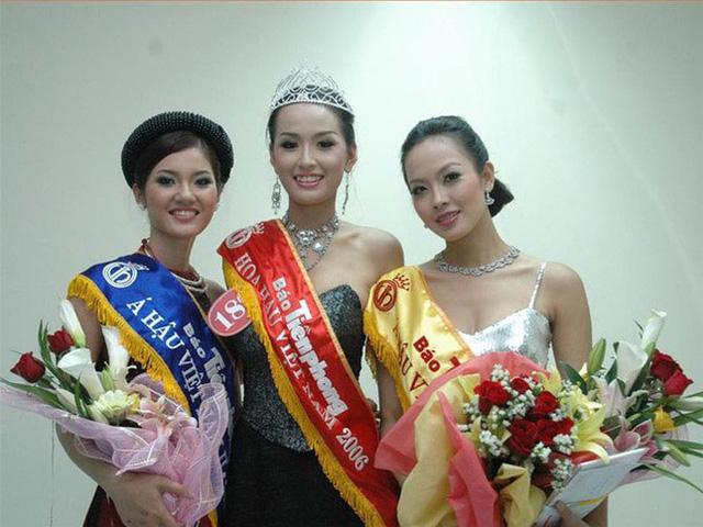 Á hậu Lương Thị Ngọc Lan và Hoa hậu Mai Phương Thúy, Á hậu 1 Lưu Bảo Anh.