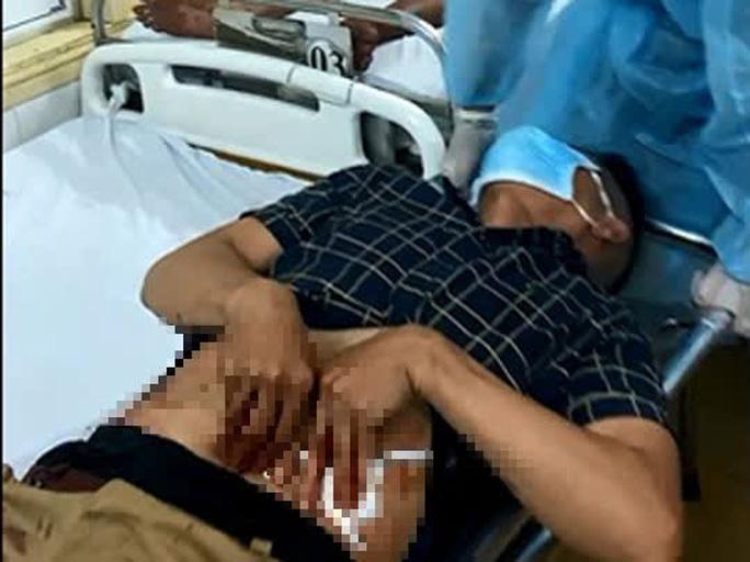 Một nạn nhân bị thương nặng trong vụ hỗn chiến kinh hoàng tại cảng cá Quy Nhơn