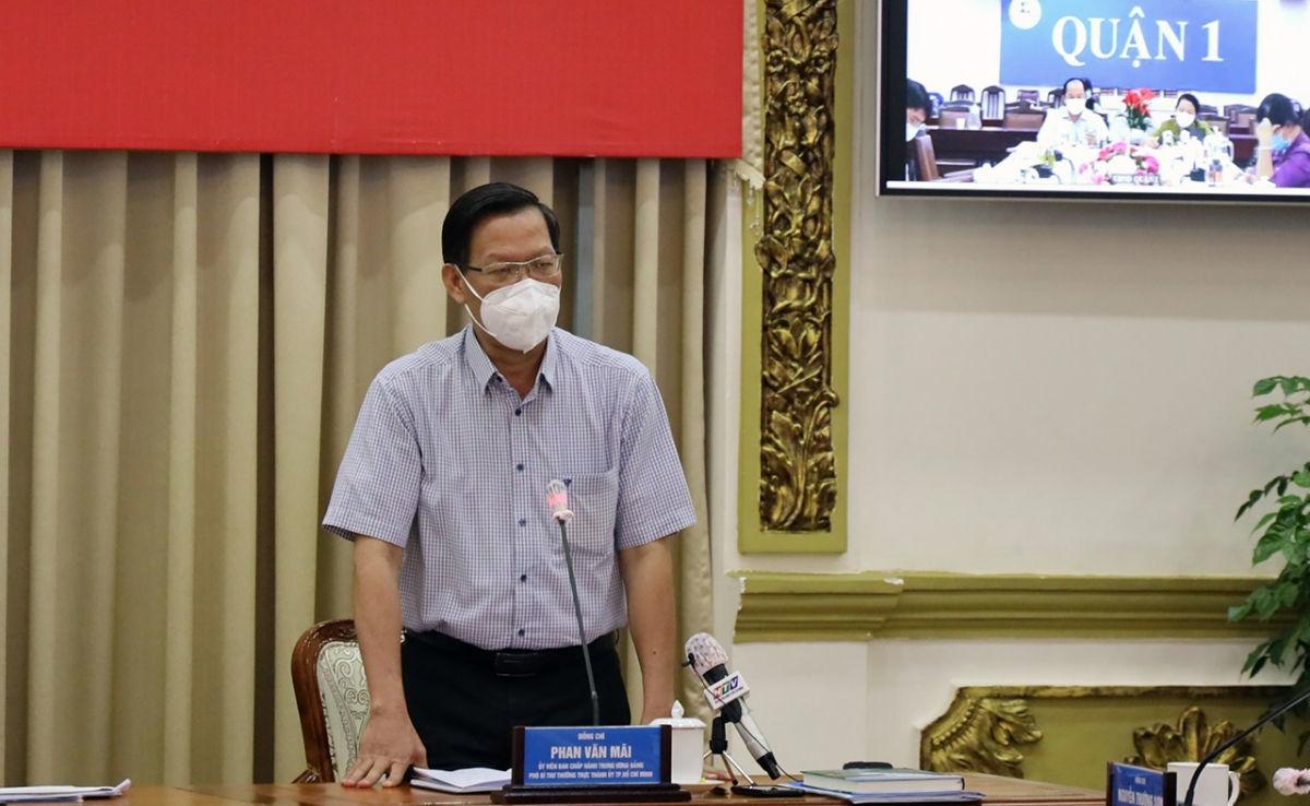 Phó Bí thư Thành ủy TP.HCM Phan Văn Mãi