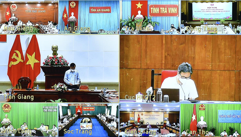 Công tác phòng, chống dịch tại một số địa phương phía nam sông Hậu, Bình Phước, Bà Rịa-Vũng Tàu đi vào nề nếp. Ảnh: VGP/Đình Nam