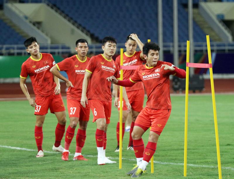 HLV Park Hang-seo chốt danh sách 23 cầu thủ cho trận đấu với ĐT Australia. Ảnh: VFF.