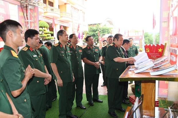 Đại tướng Phùng Quang Thanh thăm Quân khu 1 tháng 8/2020. (Nguồn: Vietnam+)