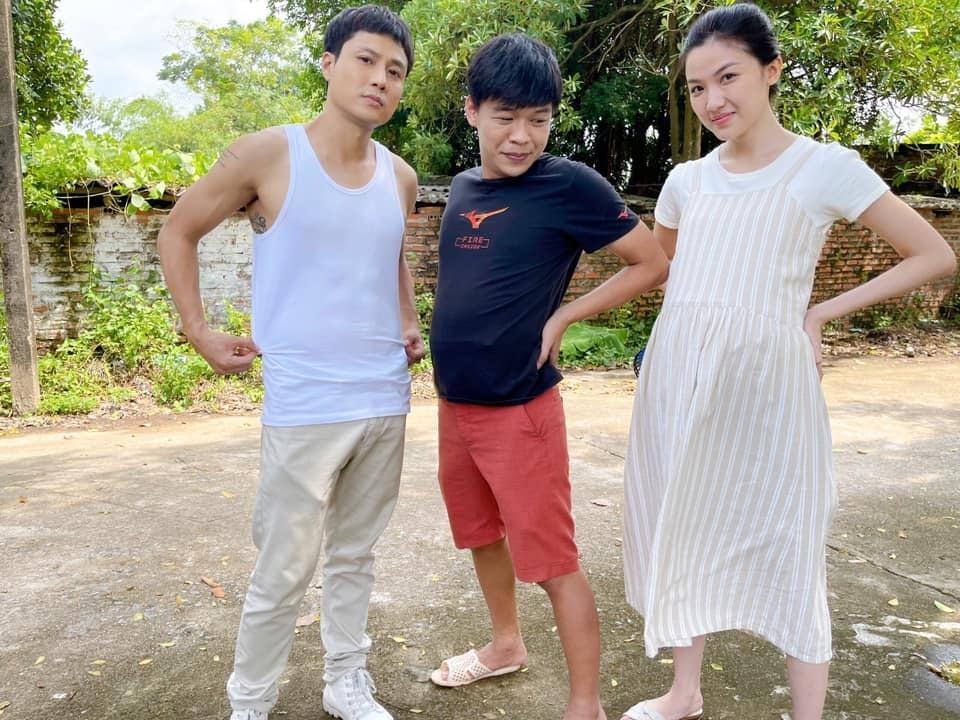 Hậu trường phim hài hước của Thanh Sơn, Trung Ruồivà Lương Thanh.