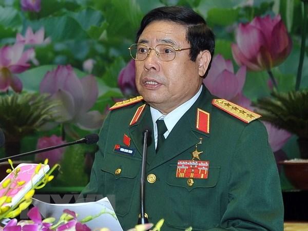 Đại tướng Phùng Quang Thanh. (Ảnh: Trọng Đức/TTXVN)
