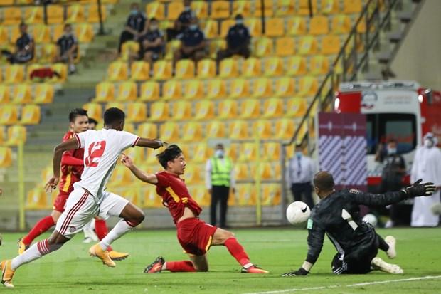 Minh Vương và nhiều cầu thủ chơi tốt nhưng không được trao nhiều cơ hội ở đội tuyển Việt Nam. (Ảnh: Hoàng Linh/TTXVN)