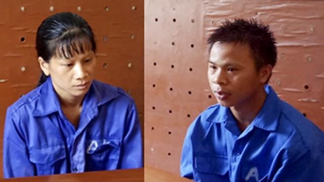 Chân dung 2 đối tượng Xin và Thủ tại CQĐT