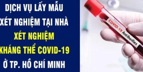 Dịch vụ xét nghiệm kháng thể sau tiêm vắc xin Covid-19 xuất hiện ở nhiều cơ sở KCB.