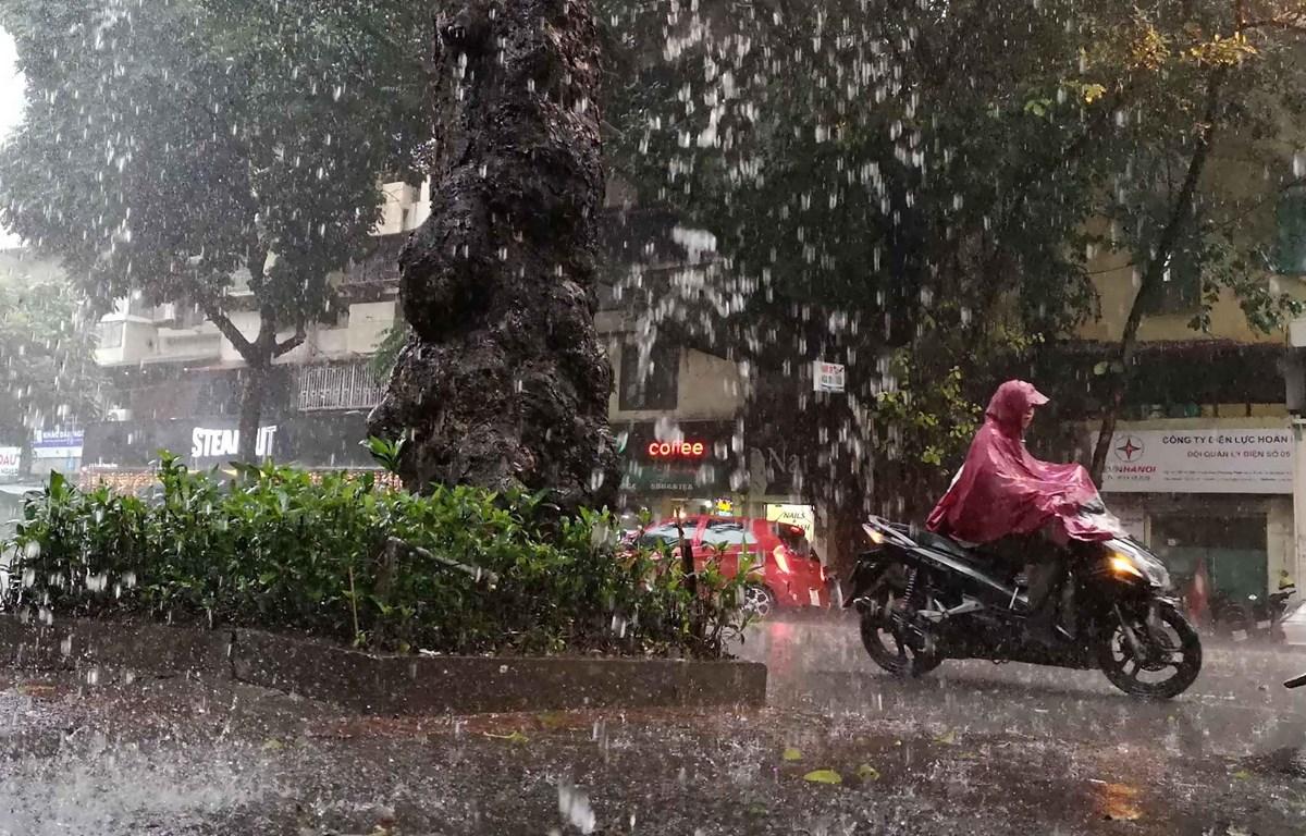 Từ ngày 19-28/9, các khu vực mưa dông kéo dài. Ảnh minh họa: TTXVN