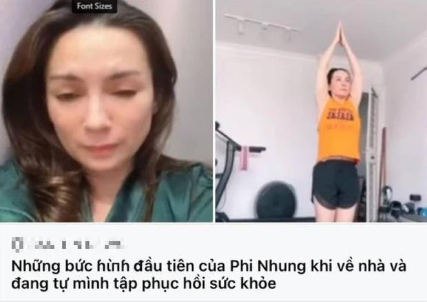 Mạng xã hội lấy lại ảnh trước khi bị bệnh của ca sĩ Phi Nhung để truyền tin tình hình sức khỏe hiện tại của cô.