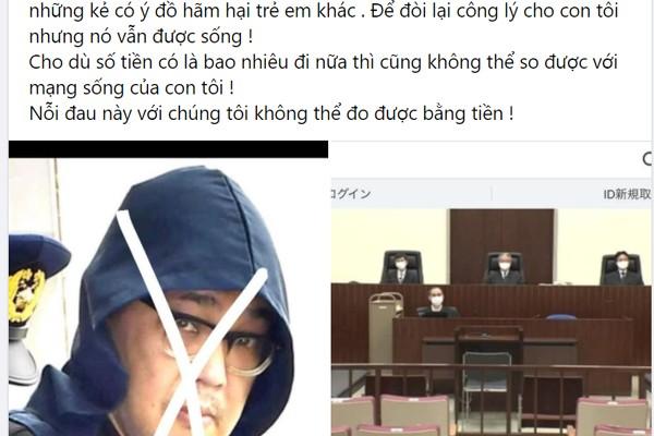 Mẹ Nhật Linh bức xúc chuyện mạng xã hội bàn tán số tiền bồi thường gia đình.