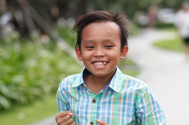 Hình ảnh Hồ Văn Cường lúc nhỏ được Hoa hậu Phương Lê đăng tải trên trang cá nhân.