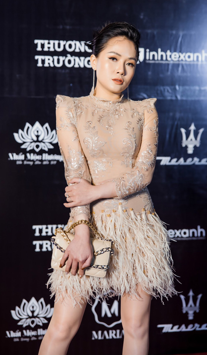 Tối 20/1/2021, nữ MC Tham dự 1 sự kiện tại Hà Nội.