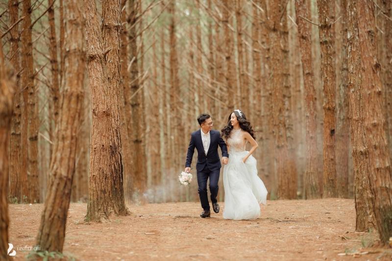 Ngắm trọn bộ ảnh cưới 'tình bể bình' của Á hậu Thuý An: Cô dâu xinh mọi góc, chú rể phong độ miễn bàn 7
